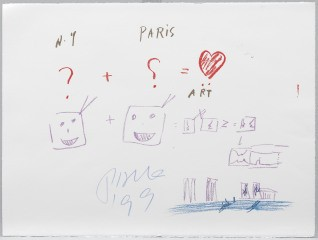 NY + Paris = Art, by Nam June Paik