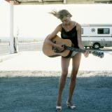 Pamela Hanson, Raina With Guitar #1, LA (French Marie Claire)