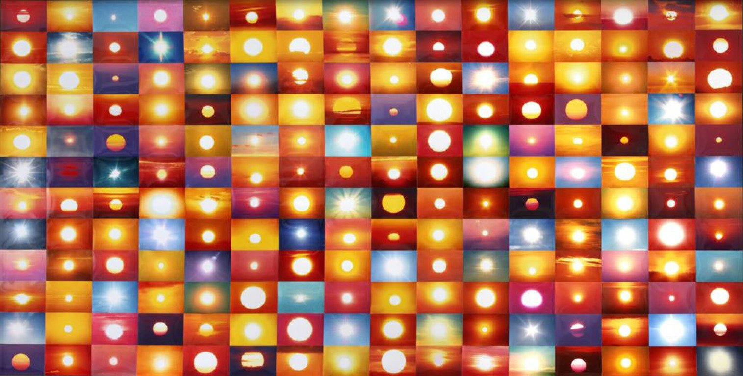 Penelope Umbrico, Suns From Flickr, 2006