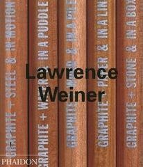 Lawrence Weiner, by Lawrence Weiner