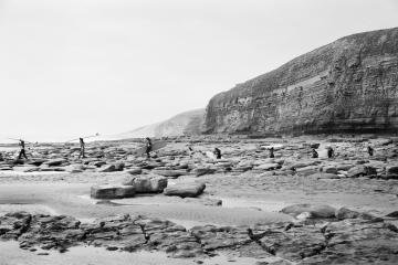 Surfers At Southerndown, by Priscilla Rattazzi