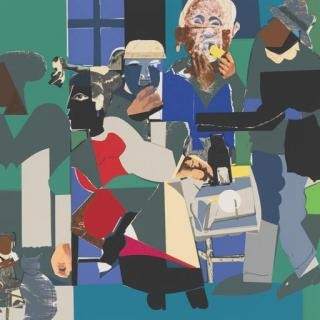Family Dinner, by Romare Bearden