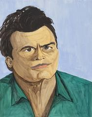 Rudy Shepherd Charlie Sheen art for sale