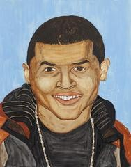 Rudy Shepherd Chris Brown art for sale