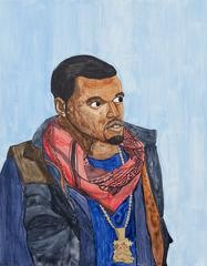 Rudy Shepherd Kanye West art for sale