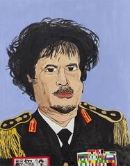 Rudy Shepherd Muammar Gaddafi art for sale