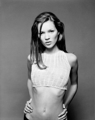 Sante  D'Orazio Kate Moss, West Village, NYC 1992 art for sale