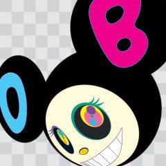 AND THEN Black, by <a href='/site-admin/artists/artist/297'>Takashi Murakami</a>