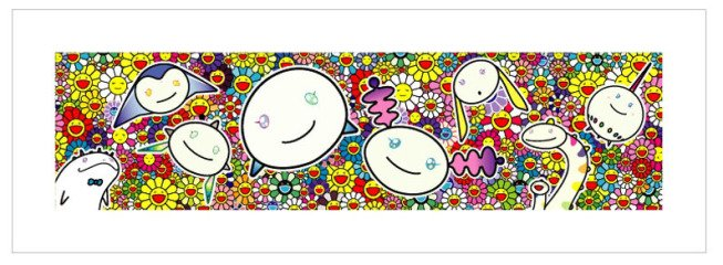 Flower: The Creatures from Planet 66, by Takashi Murakami