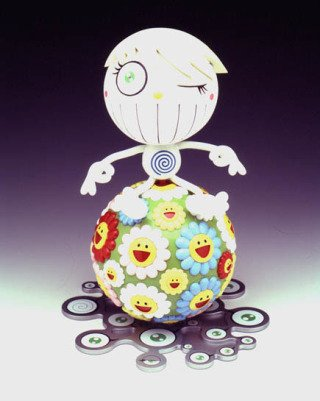 Norton Family Christmas Gift, by Takashi Murakami