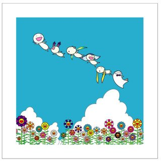 Planet 66, Summer Vacation, by Takashi Murakami