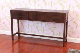10. Maria Yee Metro Sideboard&lt;br&gt; Color: Coffee&lt;br&gt; 54&quot;W x 14.25&quot;D x 29&quot;H&lt;br&gt; $1,500 