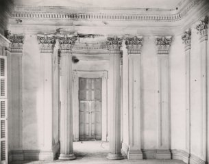Breakfast Room at Belle Grove Plantation, White Chapel, Louisiana, by <a href='/site-admin/artists/artist/589'>Walker Evans</a>